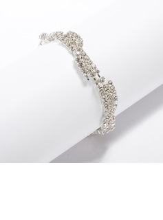 Alloy With Rhinestone Ladies' Bracelets (011033337)