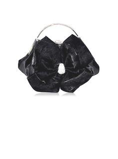 Elegante Cetim Bolsa de Pulso/Porta Moedas de Noiva (012012260)