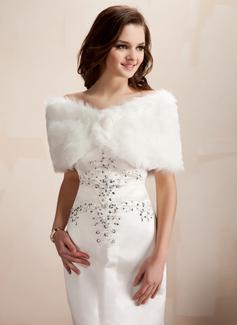 Faux Fur huwelijk Wrap (013002334)