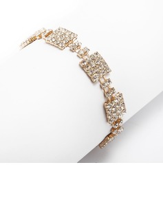 Alloy With Rhinestone Ladies' Bracelets (011033341)