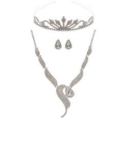 Элегантные сплав с горный хрусталь женские Комплекты ювелирных изделий (011027482)