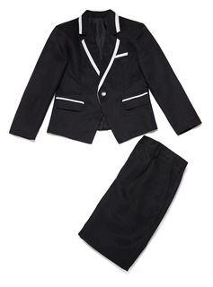 Boys 2 Pieces Elegant Ring Bearer Suits /Page Boy Suits With Jacket Pants (287199757)