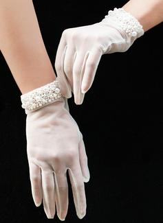 Тюль Наручные длина Свадебные перчатки (014200793)