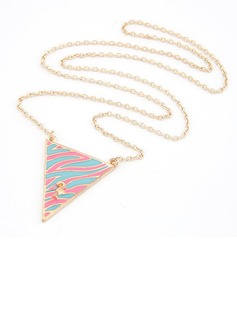 Beautiful Alloy Resin Ladies' Fashion Necklace (011034886)