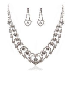 великолепный сплав с горный хрусталь женские Комплекты ювелирных изделий (011027600)