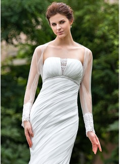 Blonder Tyll Bryllup Wrap (013026634)