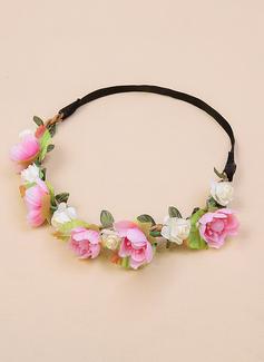 шелковые цветы цветы повязка (198213000)