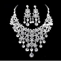 Elegante Liga/Strass Senhoras Conjuntos de jóias (011026993)