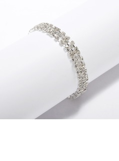 Alloy With Rhinestone Ladies' Bracelets (011033340)