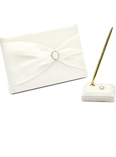 Simple Strass/Arc Livres d'or & Ensemble de crayon (101018185)