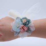 Hand-tied Wrist Corsage - (123198742)