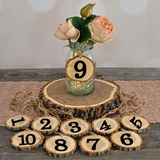 Classic Wooden Table Number Cards (Set of 10) (051179166)
