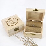 Personalized/Romantic Wood Ring Box (103206349)