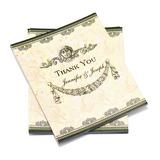 personalisé Style classique Merci des cartes (Lot de 50) (114054964)