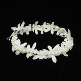 Bonito Pérola/Fio rede Capacete da menina flor (042026138)