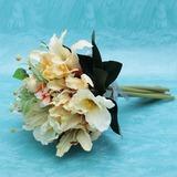 Животворящий Ручная работа атласная невесты Букеты (123032427)