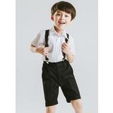 Ragazzi 4 pezzi Carino Abiti per Paggetti /Page Boy Suits con Camicia Pantaloni ciclo continuo Bretella (287202875)