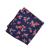 Floral Cotton Pocket Square (200182498)