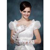 Упругие атласная локоть длина Партии/мода перчатки/Свадебные перчатки (014020480)