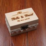 персонализированные Коробка кольца в Дерево (103186331)