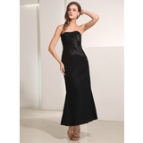 Tubo Amada Longuete Renda Vestido de baile com Pregueado (018135101)