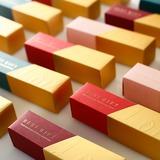 шик китайском стиле Кубовидной картона бумаги Фавор коробки и контейнеры (набор из 20) (050203412)