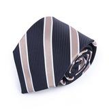 Stripe Polyester Tie (200182459)