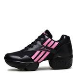 Мужская кожа сетка Танцевальные кроссовки Современный Танцевальные кроссовки Практика Обувь для танцев (053201963)
