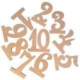Classic Puinen Taulukko Numero Kortit (Sarja 10) (051179165)