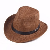 Men's Classic Salty Straw Cowboy Hats/Kentucky Derby Hats (196200468)