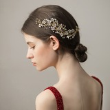 Dame Efterspurgte Imiteret Pearl Kamme & Hårspænder med Venetiansk Perle (Sælges i et enkelt stykke) (042182514)