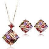 Exquisite Liga/Zirconia cúbico Senhoras Conjuntos de jóias (011051757)