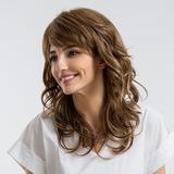 Bølget Syntetiske Human Hair Parykker (219178888)
