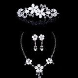Lindo Liga/Acrílico com Strass Senhoras Conjuntos de jóias (011040411)