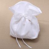 Prächtig Satiniert mit des Bowknot/Synthetischen Perlen Wristlet Taschen/Braut Geld-Beutel (012026340)