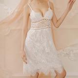 Chinlon Clássico Feminino roupa de dormir (041203486)