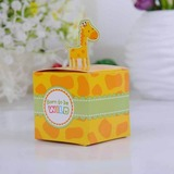Cute Giraffe Cubic Favor Boxes (Set of 12) (050024304)
