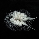 Lindo Strass/Renda/Tule Fascinators (042025863)
