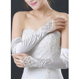 Lace Opera Length Bridal Gloves (014205746)
