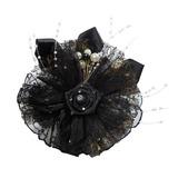 классический Атлас/Тюль Цветы и перья (042052140)