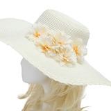 Fantasia Seda artificiais/Papel importado Flores & penas (042052518)