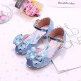 Fille de bout rond À bout ouvert similicuir Chaussures de fille de fleur avec Bowknot (207200899)