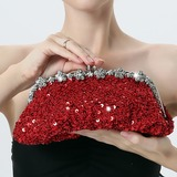 Charming Sequin Clutches (012182568)