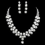 Schitterend Legering met Parel/Bergkristal Dames Sieraden Sets (011009885)