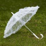 Бабочка Дизайн кружева Свадебные зонты с Вышивка (124036910)