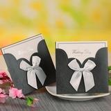 la novia y del novio del estilo Wrap & Pocket Invitation Cards con Arcos (Juego de 12) (114054747)