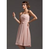 Strapless jurk maken