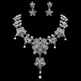 Única Liga/Strass com Pérola Senhoras Conjuntos de jóias (011019357)