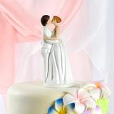 Mesmo Sexo Resina Casamento Decorações de bolos (122036158)