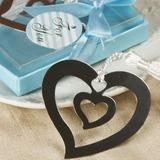 Сердце в Сердце Нержавеющая сталь Закладки с кисточка (051013607)